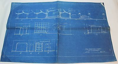 It's in the Bag! * 1944 MOVIE SET DESIGN CONCEPT BLUEPRINT * Gay Nineties Cafe