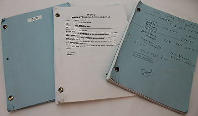 Forgetting Sarah Marshall * 3 Different 2007 Movie Script Screenplay Drafts