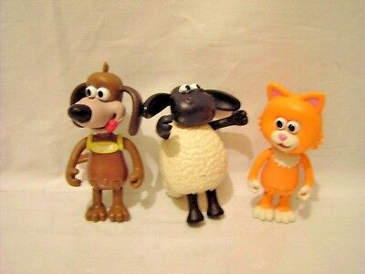 Timmy Time Figures Timmy The Sheep Ruffy The Dog Mittens The Cat