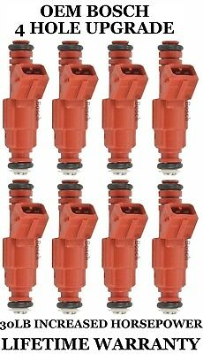 8pcs UPGRADE EV1 Fuel Injectors 22LB 4-hole for 2000-2002 Ford Excursion 5.4 V8