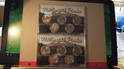 National Parks State Quarters 2016.