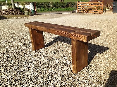 Chunky Garden Bench. Please Read The Item Description.