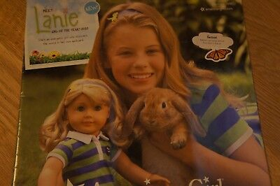 American Girl Meet Lanie catalog, January 2010