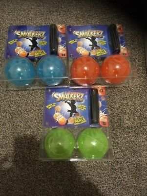 Smackerz Kids Skill Game Indoor Outdoor Ball Spinning Smackers Toy