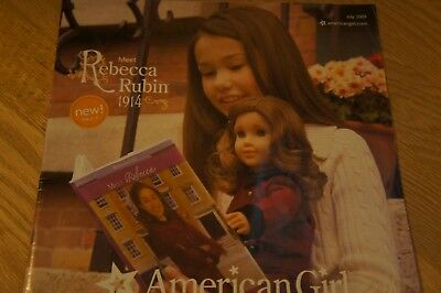 American Girl Meet Rebecca Rubin catalog, July 2009
