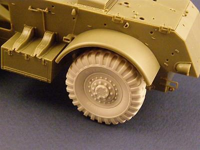 """Road Wheels for Armoured Car """"Staghound"""", RE35-006, PANZER ART, 1:35"""