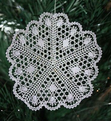 Mini Star Torchon Bobbin Lace Pattern Lacemaking *PATTERN ONLY*