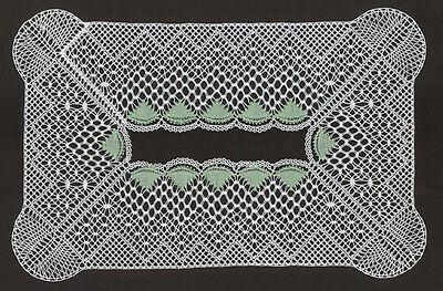 Topsy Turvy Mat Torchon Bobbin Lace Pattern Lacemaking *PATTERN ONLY*