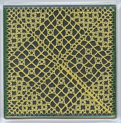 Summer Coaster Torchon Bobbin Lace Pattern Lacemaking *PATTERN ONLY*