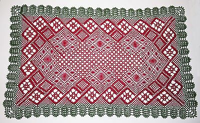 Granddad's Garden Mat Torchon Bobbin Lace Pattern Lacemaking *PATTERN ONLY*