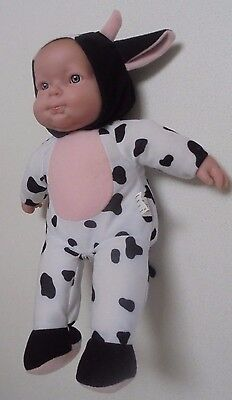 Soft Body Berenguer Doll - Berenguer Doll in Cow outfit with hood