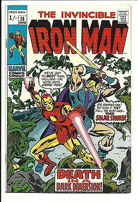 Iron Man # 26 (The Collector Appearance, June 1970), Fn/vf