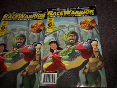 vintage Race Warrior comic  #8 special feature Shawna Robinson good to very good