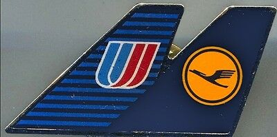 United airlines Lufthansa pin