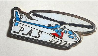 Petroleum Air Services  helicopter lapel pin