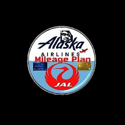 Alaska Airlines pin JAL Airlines pin-