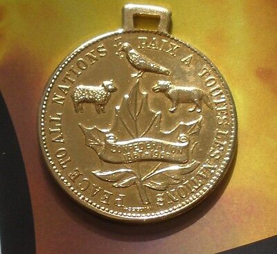 """Expo 67 Montreal Canada World's Fair Medallion/Key Chain? """"PEACE TO ALL NATIONS"""""""