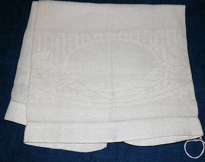 Linen Towel - Starched