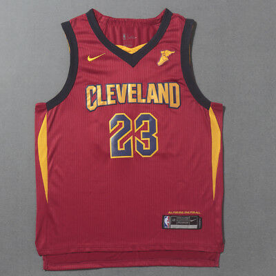 New Cleveland Cavaliers #23 LeBron James Basketball Red Jersey Size: S - XXL