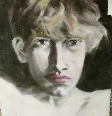 Portrait of a boy No.5  Oil on canvas original