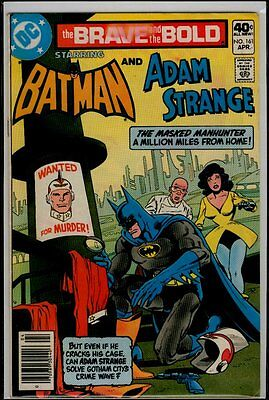DC Comics The BRAVE And The BOLD #161 BATMAN And ADAM STRANGE VG/FN 5.0