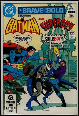 DC Comics The BRAVE And The BOLD #192 BATMAN And SUPERBOY VFN/NM 9.0