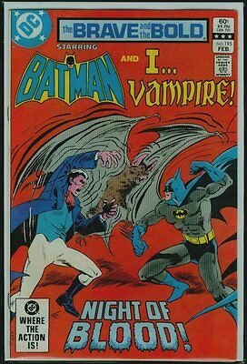DC Comics The BRAVE And The BOLD #195 BATMAN And I... VAMPIRE FN/VFN 7.0