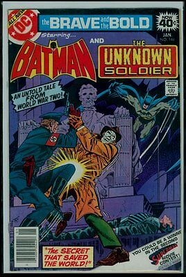 DC Comics The BRAVE And The BOLD #146 BATMAN And The UNKNOWN SOLDIER FN/VFN 7.0