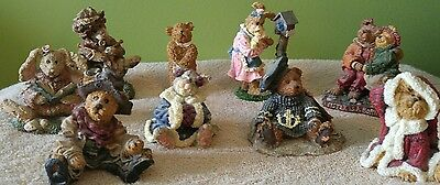 Boyds bear figurines lot