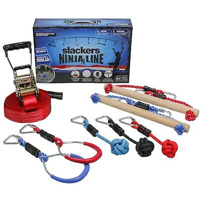 Slackers Ninja Line Intro Kit 11 metres 7 Obstacles