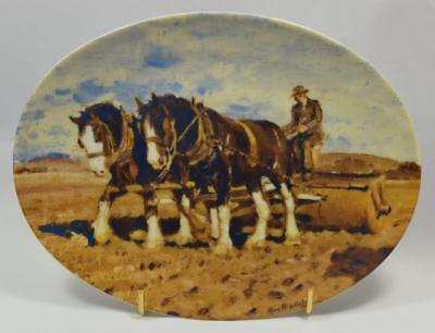 """Collectors Plate """"Freedom in the Glory of Nature"""" Max Middleton"""