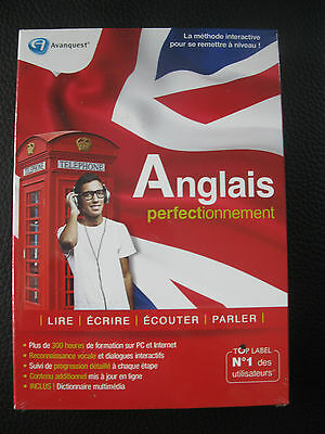 Avanquest Anglais Top Label Perfectionnement / neuf sous blister
