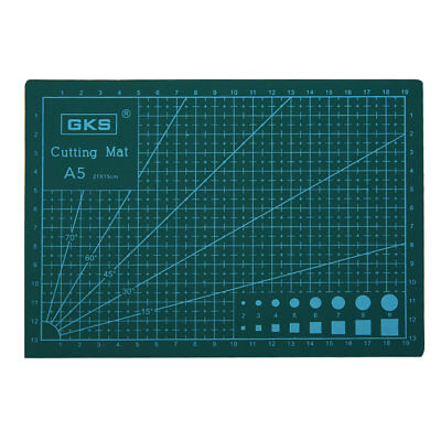 PVC A5 Double-sided cutting mat Eco Friendly Self Healing Cutting Mat 15*21CM VO