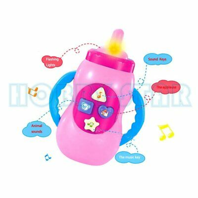 Baby Music Fun Feeding Bottle Educational Toy