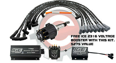 ICE Ignition NEW 7 AMP Street Kit - Small Block Chevrolet 283-400, Carby N.A.