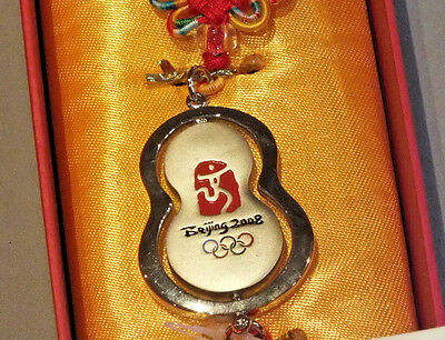 Beijing 2008 Olympic Games Chinese Knot Benediction Souvenir In Original Box