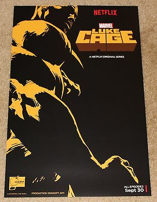 Sdcc 2016 Exclusive Marvel Luke Cage Original Poster