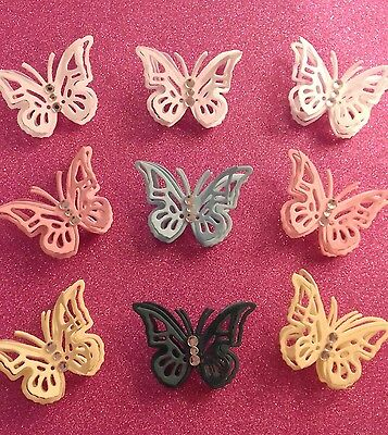 25 3D butterflys available in most colours
