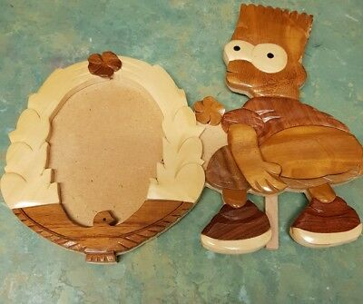 Bart Simpson Wooden Photo Frame  - The Simpsons