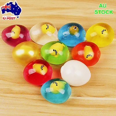 AU  Anti Stress Splat Ball Fun Egg Venting Balls Reliever Toy Funny Gifts