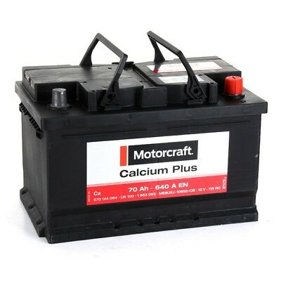 FORD/MOTORCRAFT Autobatterie/Starterbatterie 1 863 093, 12V, 70 Ah, 640 A FORD