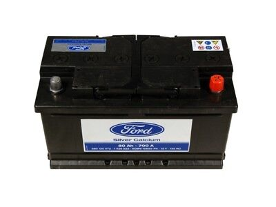 Ford Autobatterie 12V 80Ah 700A FORD 1682038