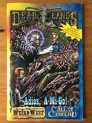 Adios, A-Mi-Go! - Weird West Deadlands - Call of Cthulhu