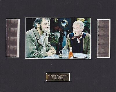 Steptoe & Son - Brambell & Corbett Hand Signed Cuts & Display
