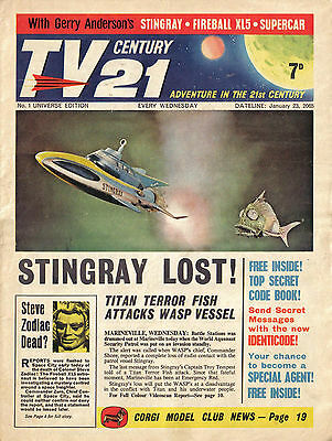 Tv Century 21 / Tv21 /countdown/ 501 Issues/ Only 5  Missing/ Dvd Rom Collection