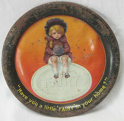 Antique  Fairy Soap Tip Tray