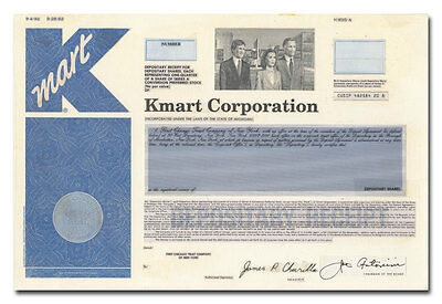 KMart Corporation RARE American Bank Note Production Portfolio