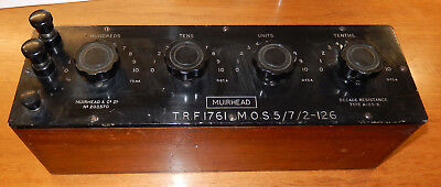 Muirhead Resistance Box A-25-K High Current