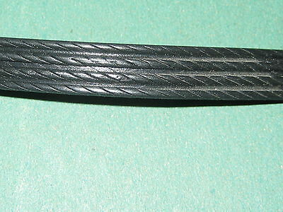 1m Replacement Wicker Repair Rattan Braid BLACK