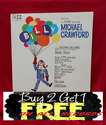 Record  Lp ~ Michael Crawford ~ Billy ~  From 1974 ~
